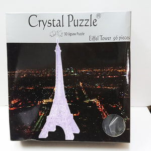 Crystal Puzzle 3D Jigsaw Puzzle - Eiffel Tower (96 pieces)