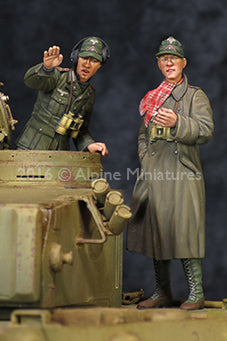 1/35 DAK AFV Commander Set