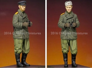 1/35 WW2 Russian Tank Commander