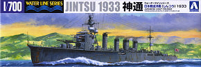 1/700 WLS LIGHT CRUISER JINTSU 1933