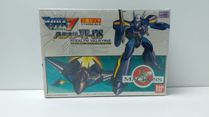 1/144 Macross 7 - VF-17S Stealth Valkyrie (Battroid Mode & Fighter Mode, 2 Type Set)