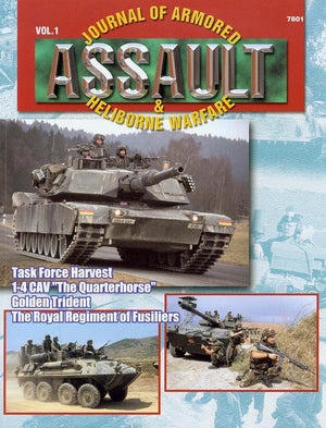 Assault: Journal of Armored and Heliborne Warfare Vol. 01