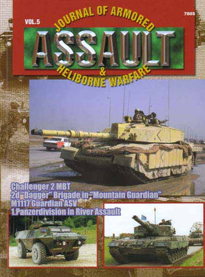Assault: Journal of Armored and Heliborne Warfare Vol. 05
