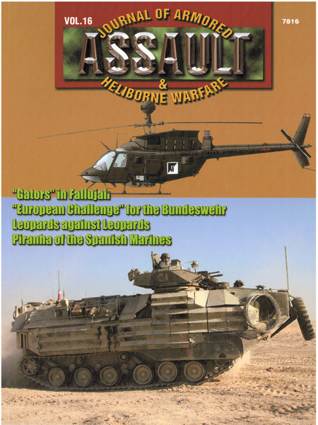 Assault: Journal of Armored and Heliborne Warfare Vol. 16