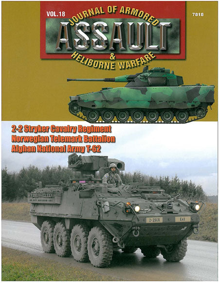 Assault: Journal of Armored and Heliborne Warfare Vol. 18