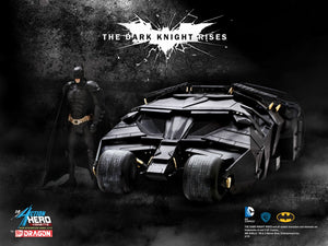 1/9 ACTION HERO VIGNETTE BATMAN + TUMBLER (75TH ANNIVERSARY EDITION)