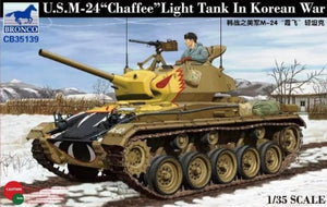 1/35 U.S. M-24 Chaffee Light Tank in Korean war