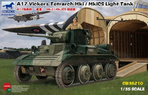 1/35 A17 Vickers Tetrarch Mk.I / MkICS Light Tank