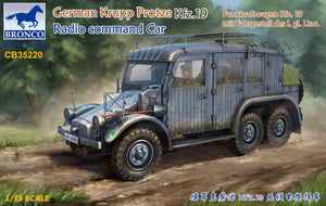 1/35 German Krupp Protze Kfz. 19 Radio Command Car