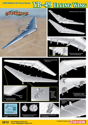 1/200 YB-49 Flying Wing