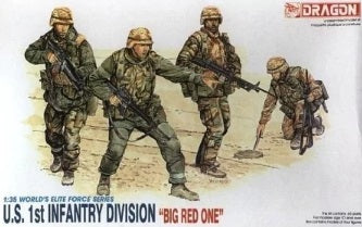 "1/35 U.S. 1st Infantry Division ""Big Red One"""