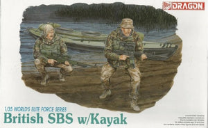1/35 British SBS w/ Kayak