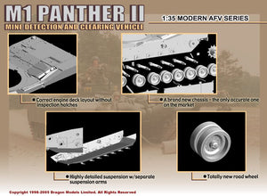 1/35 M1 Panther II Mine Detection & Clearing Vehicle