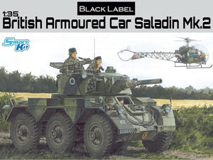 1/35 British Armoured Car Saladin Mk.2