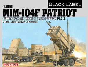 1/35 MIM-104F PATRIOT SURFACE-TO-AIR MISSILE (SAM) SYSTEM PAC-3 M901 LAUNCHING STATION