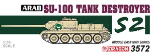 1/35 Arab Su-100 Tank Destroyer- The Six Day War
