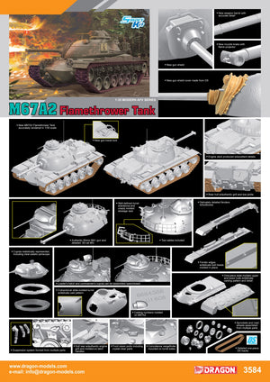 1/35 M67A2 Flamethrower Tank