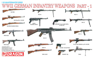 1/35 WWII German Infantry Weapons Part 1