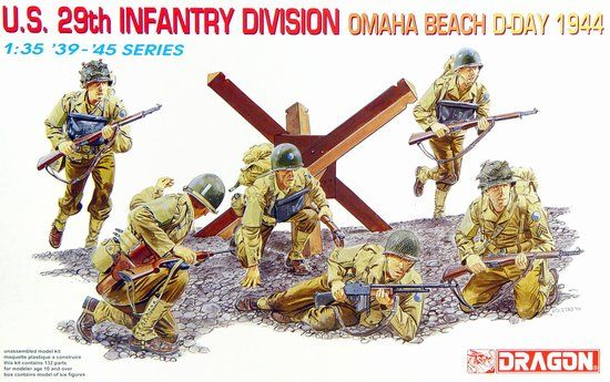 1/35 U.S. 29th Infantry Division (Omaha Beach, D-Day 1944)