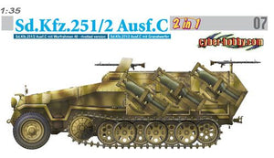 1/35 Sd.Kfz.251/2 Ausf.C (2 in 1)