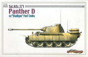 "1/35 Sd.Kfz.171 Panther D w/""Stadtgas"" Fuel Tanks"