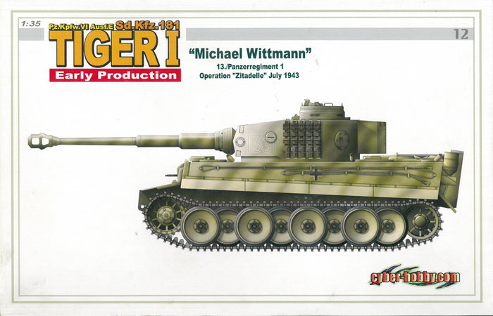 "1/35 Tiger I Early Production, ""Michael Wittmann"", 13./Panzerregiment 1, Operation ""Zitadelle"" July 1943"