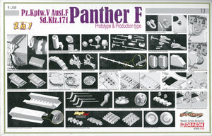 1/35 Pz.Kpfw.V Ausf.F Sd.Ktz.171 Panther F Prototype & Production type