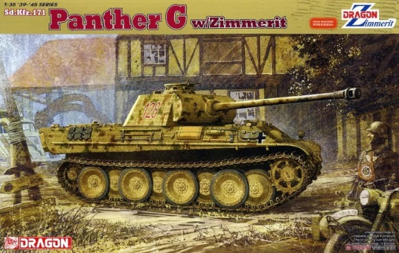 1/35 Panther G w/Zimmerit