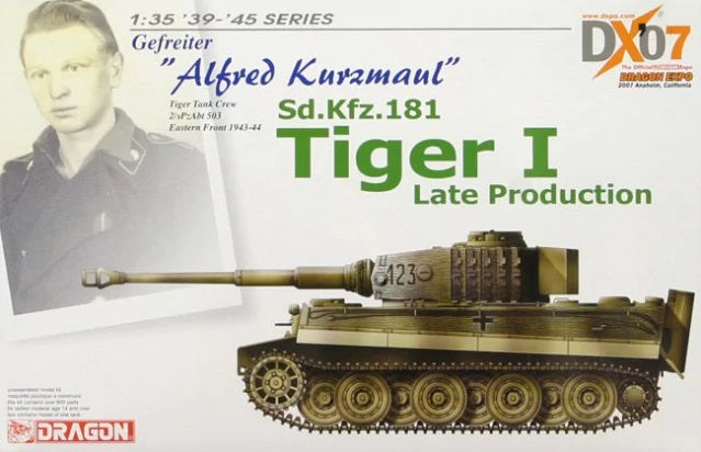 "1/35 Gefreiter ""Alfred Kurzmaul"" Sd.Kfz.181 Tiger I Late Production"