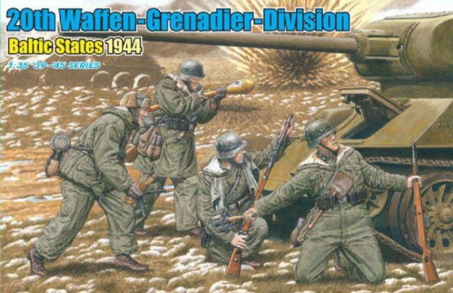 1/35 20th Waffen-Grenadier-Division, Baltic States 1944