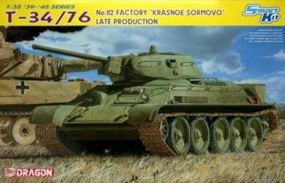 "1/35 T-34/76 Model 1942 No.112 Factory ""Krasnoe Sormovo"" Late Production"