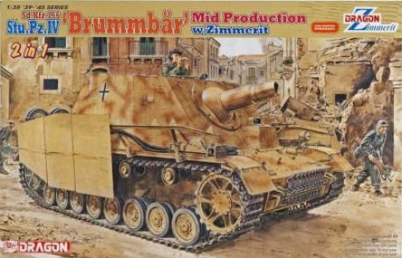 1/35 Brummbär Mid Production w/Zimmerit