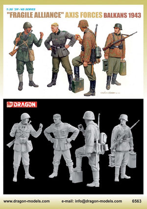 "1/35 ""Fragile Alliance"" Axis Forces (Balkans 1943)"