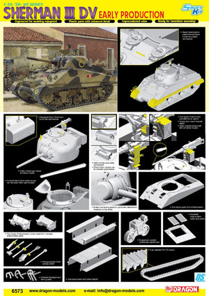 1/35 Sherman III DV, Early Production