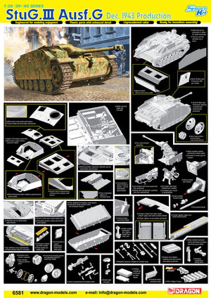 1/35 StuG.III Ausf.G, Dec 1943 Production