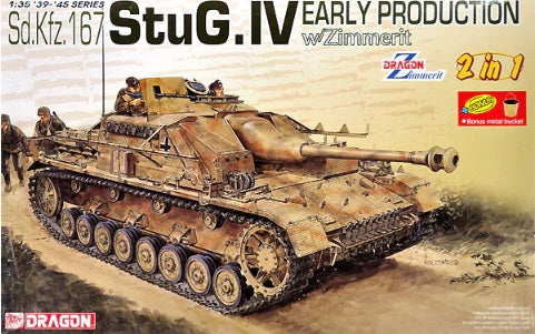 1/35 Sd.Kfz.167 StuG. IV Early Production w/Zimmerit