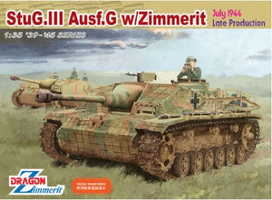 1/35 StuG.III Ausf.G w/Zimmerit, July 1944, Late Production