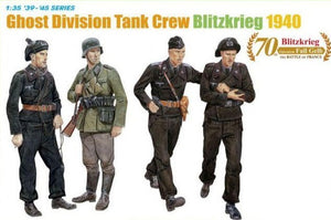 1/35 Ghost Division Tank Crew (Blitzkrieg 1940)