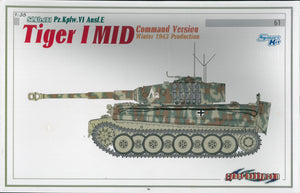 1/35 Tiger I Mid Command Version, Winter 1943 Production