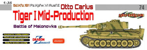 1/35 Sd.Kfz.181 Pz.Kpfw.VI Ausf.E, Otto Carius, Tiger I Mid-Production, Battle of Malinovka