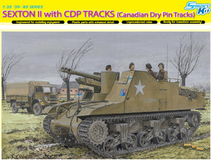 1/35 Sexton II with CDP Tracks (Canadian Dry Pin Tracks)