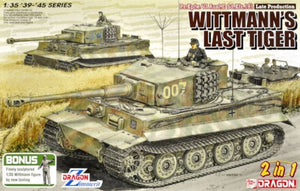 "1/35 ""Wittmann's Last Tiger""  Pz.Kpfw.VI Tiger I Late Production w/Zimmerit"