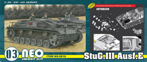 1/35 StuG.III Ausf.E (Neo Smart Kit 03)