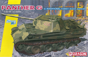 1/35 Panther G w/Additional Turret Roof Armor