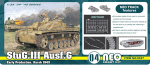 1/35 StuG.III Ausf.G Early Production, Kurks 1943 (Neo Smart Kit 04)