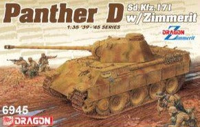1/35 Sd.Kfz.171 Panther Ausf.D w/Zimmerit (2 in 1)