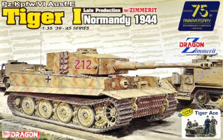 1/35 Tiger I Late Production w/Zimmerit (Normandy 1944)