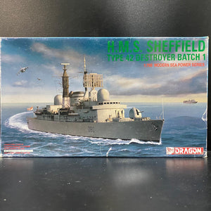 1/700 H.M.S. Sheffield Type 42 Destroyer Batch 1