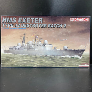 1/700 H.M.S. Exeter Type 42 Destroyer Batch 2