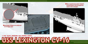 1/700 U.S.S. Lexington CV-16